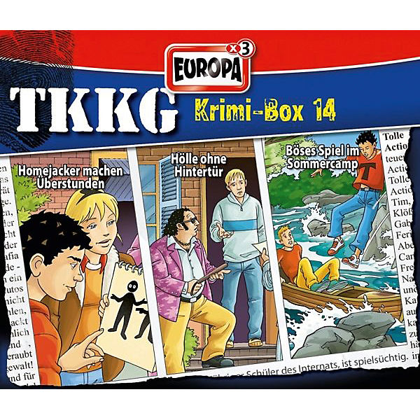 CD TKKG - Krimibox 14