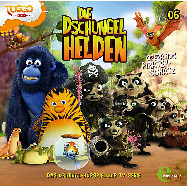 CD Die Dschungelhelden 06 - Operation Piratenschatz