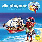 CD Die Playmos - Der Schatz der Teufelsinsel (Relaunch)
