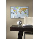 Weltkarte zum Beschriften, 96 x 64 cm