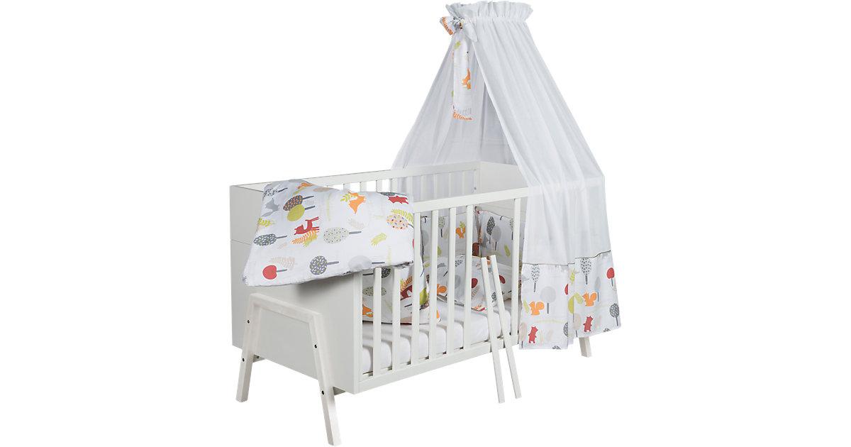 Kinderbett Holly White, 70 x 140 cm, weiß