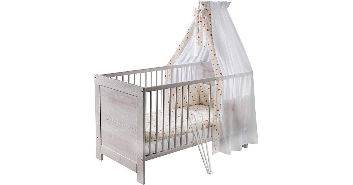 Kinderbett Nordic Cascina, 70 x 140 cm, Cascina Pinie weiß