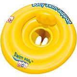 Круг для плавания с сиденьем и спинкой Swim Safe, ступень A,  Bestway