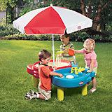 Стол-песочница, с зонтом, Little Tikes