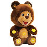 Мягкая игрушка Мишка, 10 функций, Маша и Медведь, МУЛЬТИ-ПУЛЬТИ