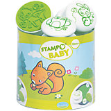 Aladine STAMPO'BABY Maxi-Stempelset Waldtiere, 6-tlg.