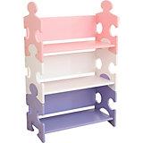 Bücherregal Puzzle - Pastell