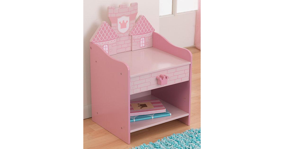 Nachttisch Prinzessinnenburg rosa