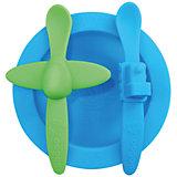 Набор посуды, Oogaa, голубой