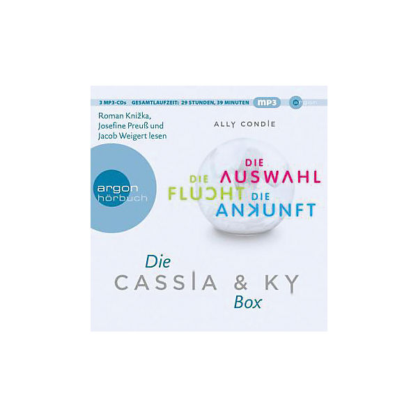 Die Cassia & Ky-Box, 3 MP3-CDs