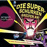 Die Superschurken greifen an!, 2 Audio-CDs