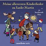 Meine allerersten Kinderlieder zu Sankt Martin, 1 Audio-CD