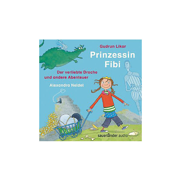 Prinzessin Fibi, 1 Audio-CD
