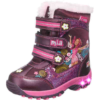 MIA&ME Kinder Winterstiefel Blinkies