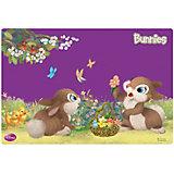 """Подкладка для письма А3 """"Bunnies"""""""