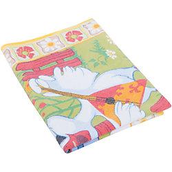 Одеяло байковое Весёлые гуси, 100х140, Baby Nice