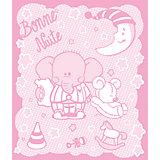 Одеяло байковое Слоник 100х118, Baby Nice, розовый