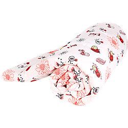 Одеяло стеганное Божья коровка, файбер 200, 110х140, Baby Nice, красный