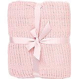 Одеяло детское вязанное 90х120 Baby Nice, розовый