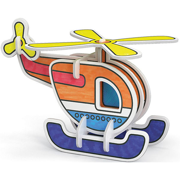 "3D Раскраска ""Вертолет"", Artberry"