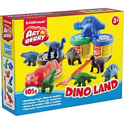 """Набор для лепки """"Остров динозавров"""" (10 предметов)"""