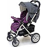 Прогулочная коляска с конвертом Castle S 803 WFM, Jetem, фиолетовый