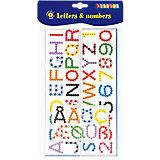 Bügelperlen-Steckplatten Buchstaben & Zahlen