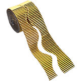 Wellpappe gold, 15 m