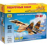 """Подарочный набор """"Самолет """"Су-37"""", Звезда"""