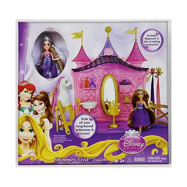 """Кукла в наборе с аксессуарами """"Создай прическу"""", Принцессы Дисней"""