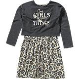 TOM TAILOR Set Kinder Kleid + Pullover