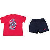 Комплект для мальчика: футболка и шорты GFX J SET (SS + SHORT) INF NIKE