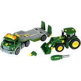 klein Transporter mit John Deere Traktor