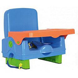 Стульчик для кормления BH-410 Selby, синий/оранжевый