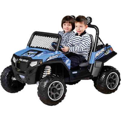 elektrofahrzeug polaris ranger rzr 900 12v blau peg. Black Bedroom Furniture Sets. Home Design Ideas