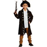 Kostüm Piratenmantel braun