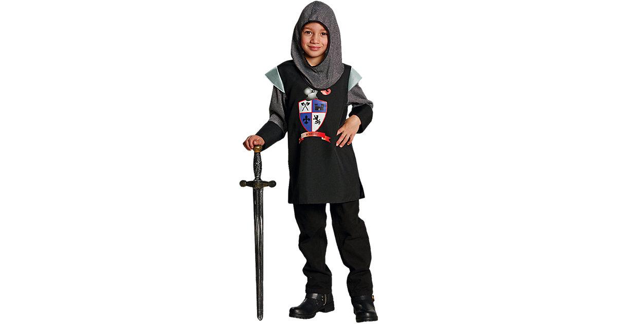 Kostüm schwarzer Ritter Gr. 164 Jungen Kinder