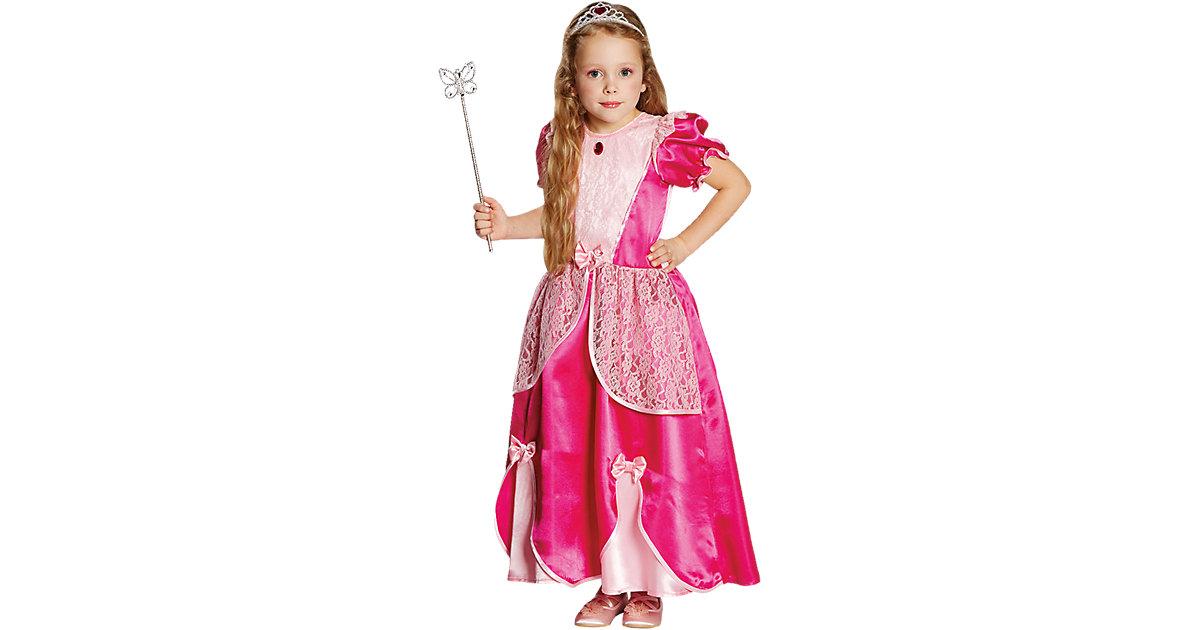 Kostüm Prinzessin Mariella pink Gr. 140 Mädchen Kinder