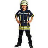 Spieleshirt Feuerwehr blau