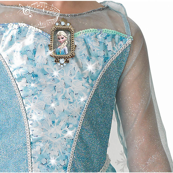 Kost 252 M Eisk 246 Nigin Elsa Musical Light Up Dress Disney Die