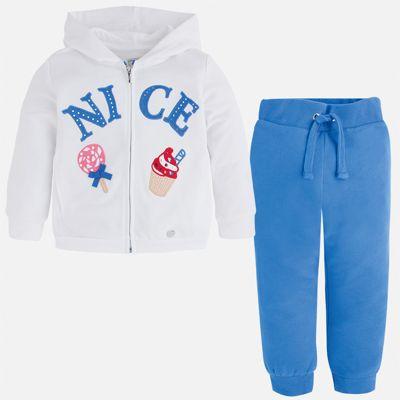 Спортивный костюм для девочки Mayoral - голубой