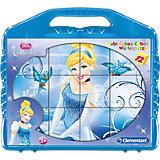 Würfelpuzzle 12 Teile - Cinderella
