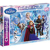 Brilliant Puzzle 104 Teile - Die Eiskönigin