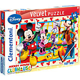 Velvet Puzzle 60 Teile - Mickey Mouse