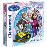 Puzzleuhr 96 Teile - Die Eiskönigin