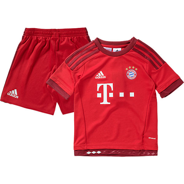 adidas Performance Kinder Mini Kit FC Bayern München: Trikot + Shorts
