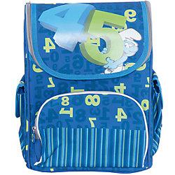 """Ортопедический рюкзак """"Учись на пять!"""", Смурфики"""