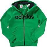 adidas Performance Sweatjacke für Jungen, grün