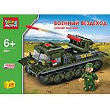 """Конструктор """"Военный вездеход"""", 250 дет., Город мастеров"""