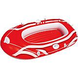 Надувная лодка с двухкамерным бортом, Bestway, красная